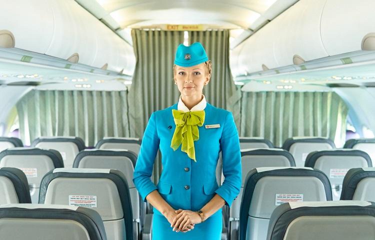 Обслуживание в самолете S7