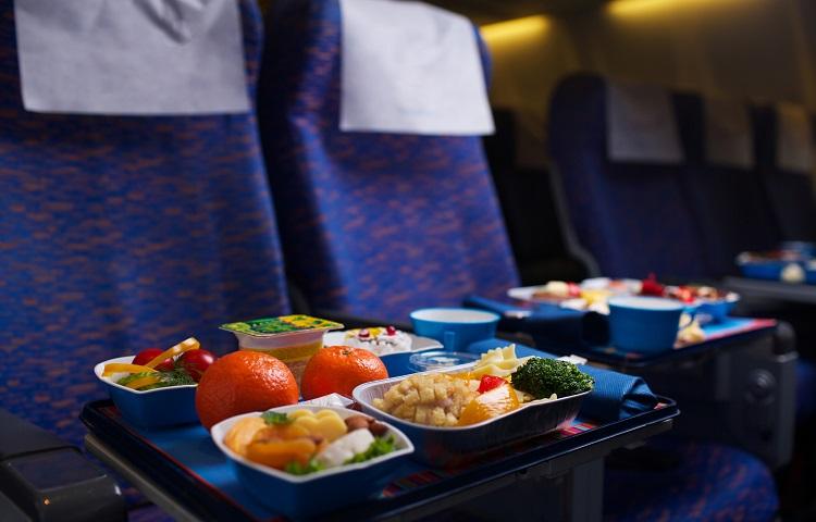 Меню для пассажиров авиакомпании S7