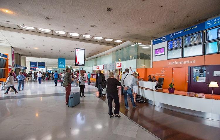 Прохождение регистрации на самолет компании Эйр Франс