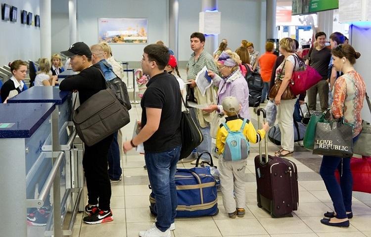 Прохождение регистрации на рейс авиаперевозчика Глобус