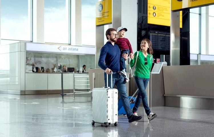 Прохождение регистрации на самолет ТАП Португал