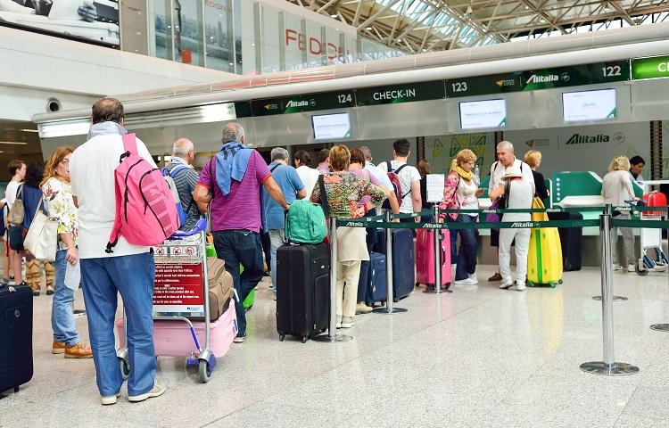 Прохождение регистрации на рейс Туркменских авиалиний