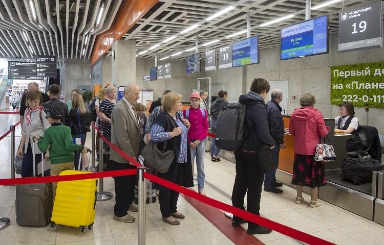 Прохождение регистрации на самолет UVT Aero