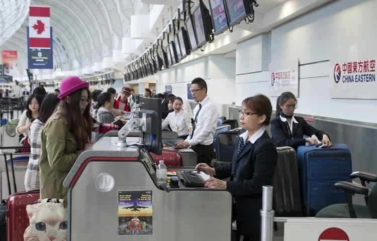 Регистрация на самолет Китайских Восточных авиалиний