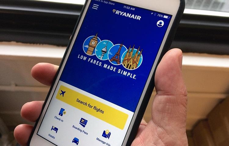 Регистрация на самолет перевозчика Ryanair – онлайн и в аэропорту