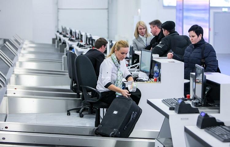 Прохождение регистрации на рейс в аэропорту Жуковский
