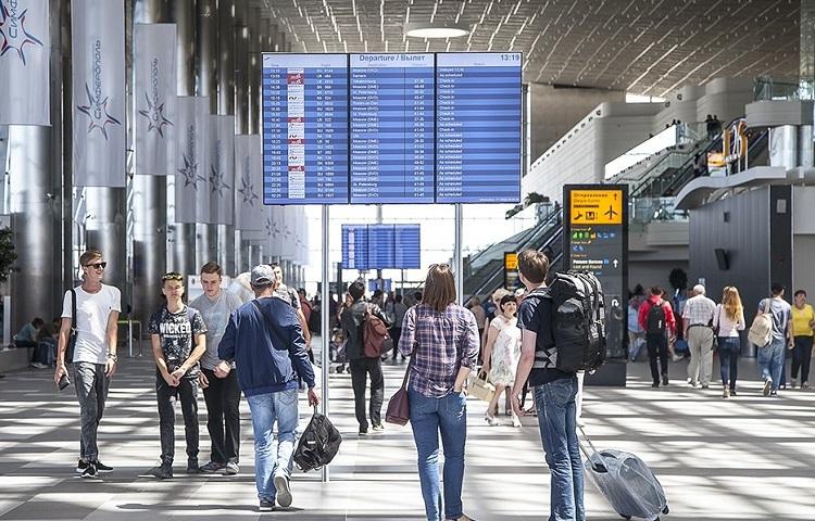 Процедура регистрации на самолет в аэропорту Симферополя