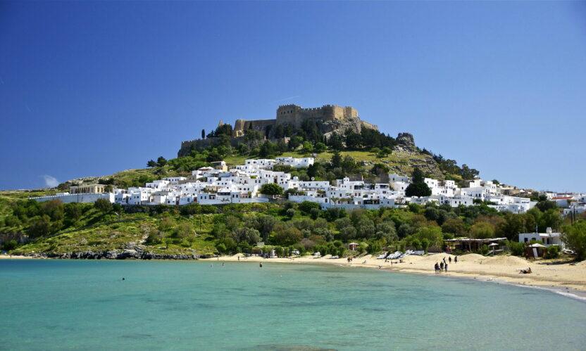 Где лучше отдыхать на Родосе: курорты, пляжи, экскурсии