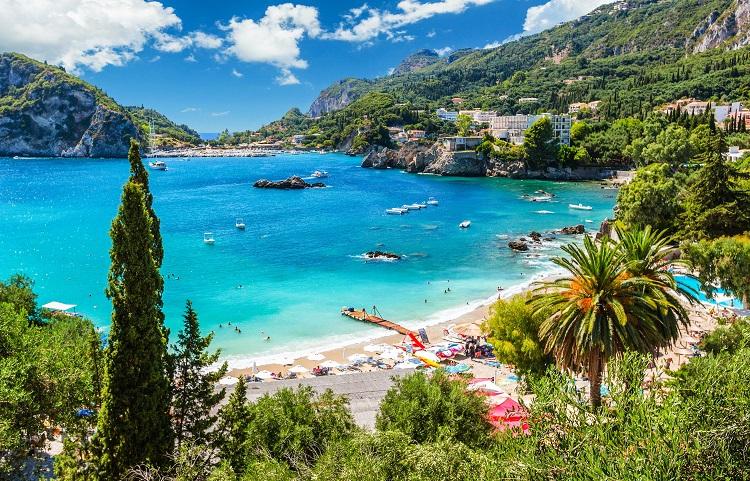 Отпуск на Керкире в Греции