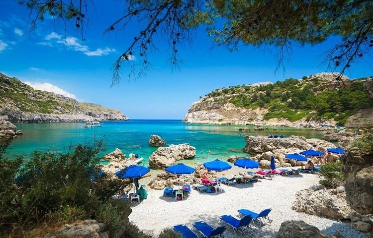 Лучшие пляжи греческого острова Родос