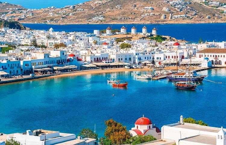 Отпуск на греческом острове Миконос