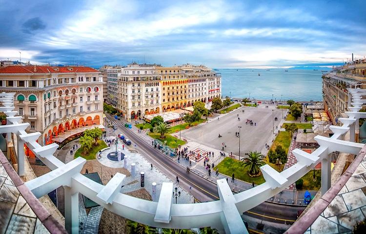 Отпуск в Салониках в Греции