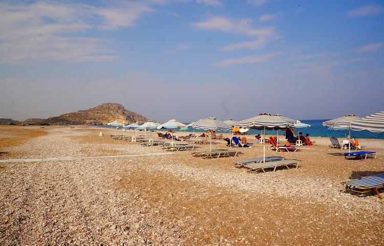 Пляж Афанду на Родосе