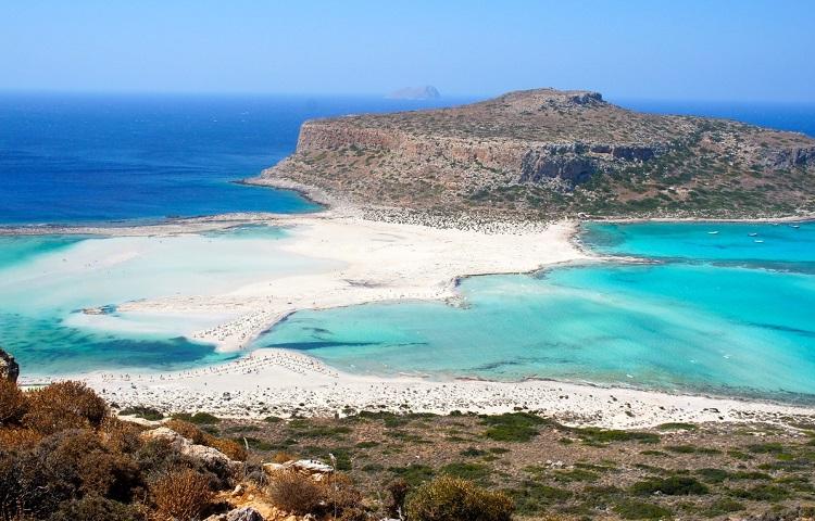 Лагуна Балос на острове Крит