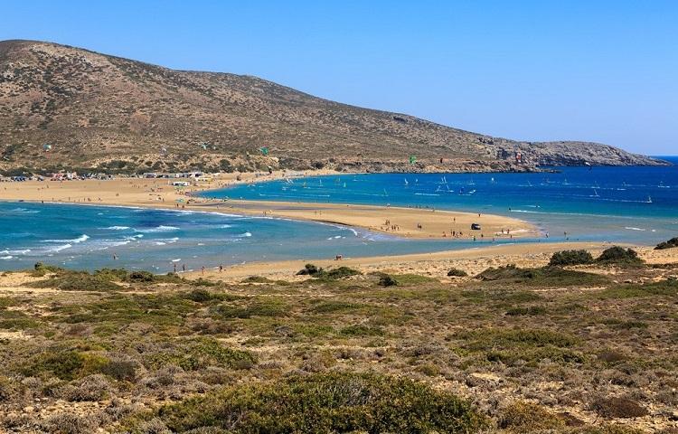 Курорты Родоса с песчаными пляжами