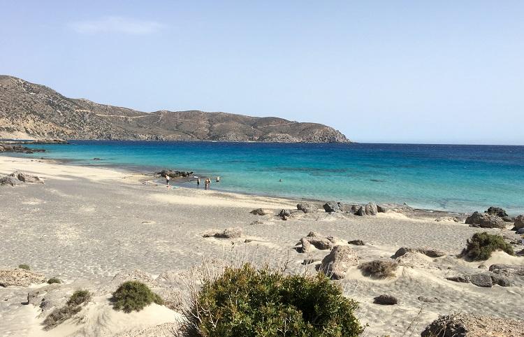Дикие пляжи острова Крит