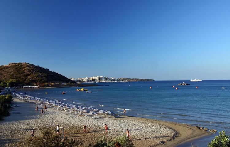Пляж Алмирос на острове Крит