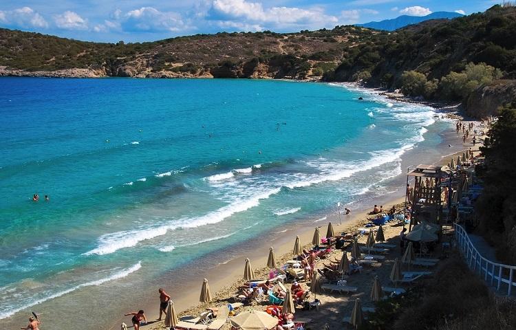 Пляж Вулизма на острове Крит
