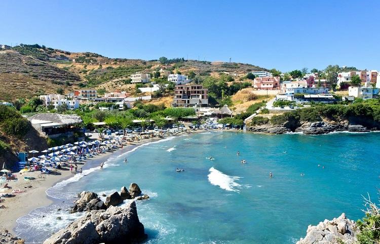 Лучшие пляжи греческого острова Крит