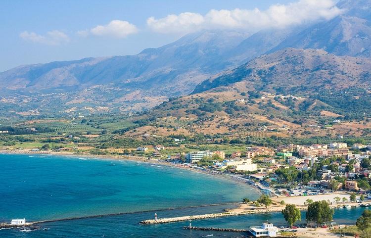 Курорт Георгиуполис на острове Крит