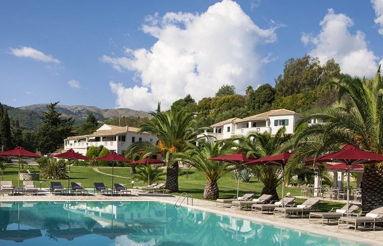 Гостиницы Корфу в Греции