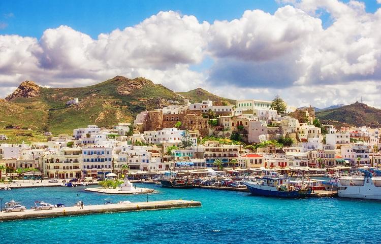 Отпуск на греческом острове Наксос