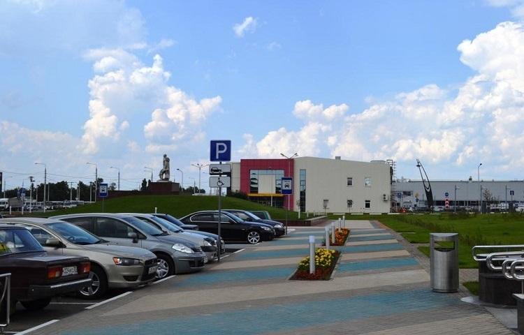 Парковки возле аэровокзала Белогорода