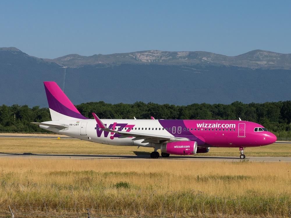 Венгерский лоукостер Wizz Air
