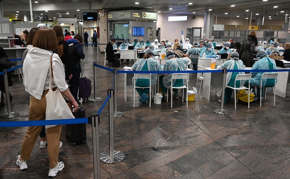Где сдать тест на коронавирус в аэропортах Москвы