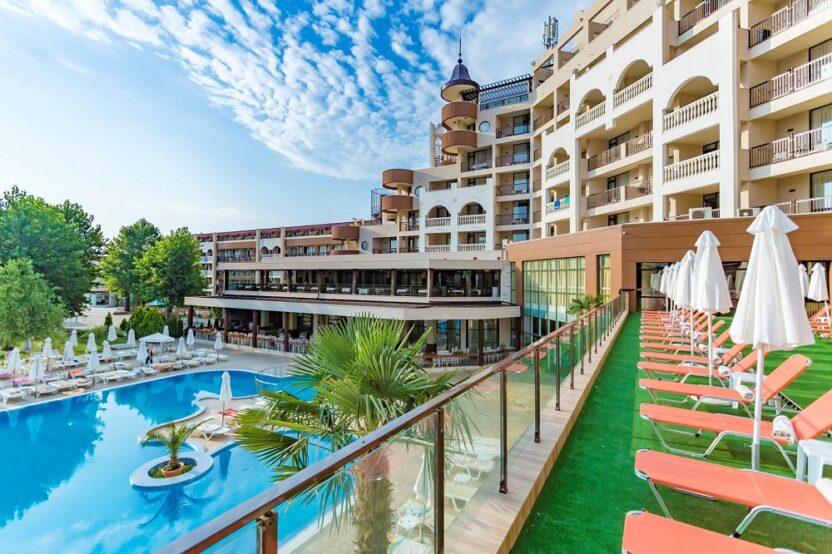 Лучшие отели Солнечного Берега в Болгарии: 3, 4, 5 звезд