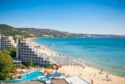 Обзор курорта Золотые Пески в Болгарии