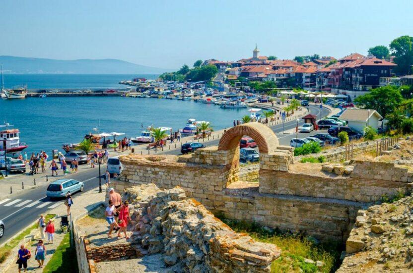 Обзор приморского курорта Несебр в Болгарии